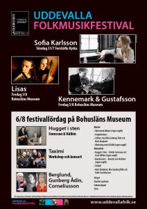 Affisch Uddevalla Folkmusikfestival